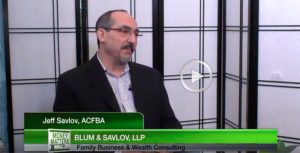 Jeff Savlov, Family Business and Wealth Consultant on Money Matters TV